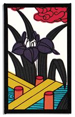 Traditional May bridge card
