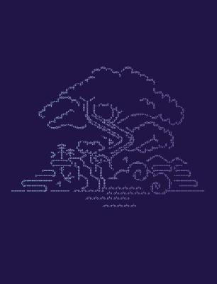 ASCII Heroku ecosystem wallpaper